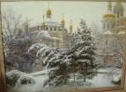 В Лавре зимой