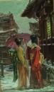 Куртизанка и юнная камуро(воспитанница)