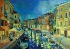 Венеция.Ночь