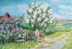 Весна в деревне /  Татьяна Дудник