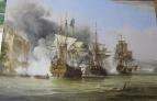 Копия картины George Chambers Senior  The Capture of Puerto Bello, 21 November 1739