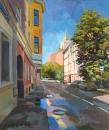 Гагаринский переулок. Предчувствие лета