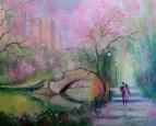 Весна в городском парке