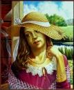 Девушка со стрекозой