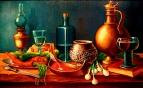 Натюрморт с икрой /  Валерий Литвинов