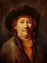 Автопортрет Рембрандта 1656 года (коп)