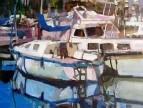 Лодки. Греция. Афины.