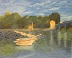 лодки моне