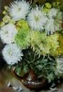 Девять хризантем