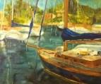 Старая яхта