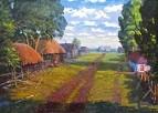 Алтайская деревня.50-е годы.