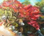 Багряное дерево