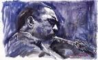 Jazz Saxophonist John Coltrane 01