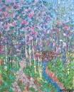Картина Весенний пейзаж Landscape Spring /  Константин Лорис-Меликов