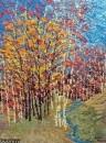 Картина Весенний пейзаж Тропаревский парк 2