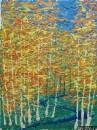 Картина Зимний пейзаж Тропаревский парк 1