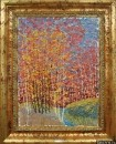 Картина Весенний пейзаж Тропаревский парк 1