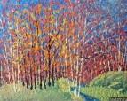 Картина Весенний пейзаж Тропаревский парк