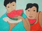 Любительницы арбузов