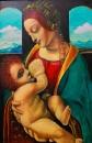 Мадонна Литта. Копия Леонардо да Винчи