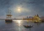 Лунная ночь в Венеции /  Сергей Соловьёв
