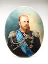 Плакетка по мотивам картины  Н.ШИЛЬДЕР   Портрет Александра III