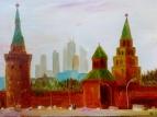 Московский Кремль /  Ирина Якубик