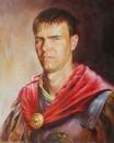 Портрет молодого человека в костюме римского воина