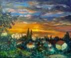 После грозы. Кирьят-Гат. 2011.х.м. 20х25