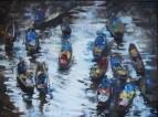 Рынок на воде - Таиланд