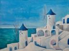 Санторини Мельница(Santorini Windmill)