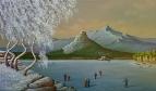 Зимний пейзаж Боровое.