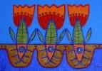 Рыбы-тюльпаны
