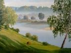 Утро на реке /  Игорь Воробьев