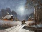 Зимняя дорога /  Сергей Соловьёв