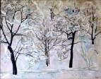 Зима. Парк академии имени Тимирязева