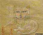 Рисунок Кошка