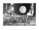 луна и кузнечик