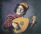 Копия с картины Франса Хальса