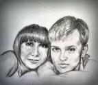 Сын с подружкой