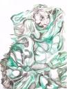 акварельный хамелеончик