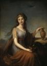 Портрет Анны Питт в виде Гебы