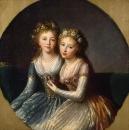 Портрет дочерей императора Павла I