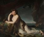 Эмма Гамильтон в образе вакханки