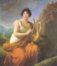 Портрет мадам де Сталь в виде Коринны