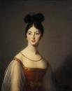 Женский портрет (Леонтина де Ривьера)