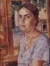 Девушка у окна. 1928