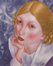 Портрет Рии (Портрет А.А.Холоповой). 1915