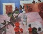 Розовый натюрморт. 1918