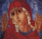 Богоматерь Умиление злых сердец. 1914-1915
